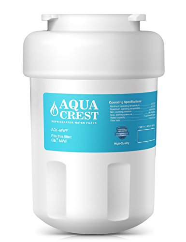 AQUACREST MWF Replacement for GE MWF, MWFA SmartWater, Kenmore 469991 Refrigerator Water Filter