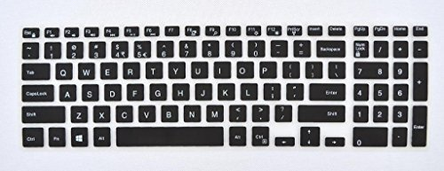 Silicone Keyboard Covers Skin Keypad Protector For Dell laptop 15C 15CR
