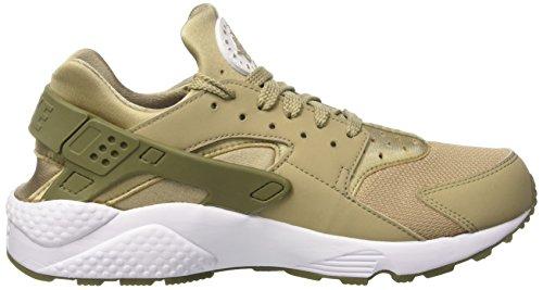 Air Medium Khaki da Huarache White Uomo Verde Olive Ginnastica Scarpe Nike Khaki Fwgqd4g