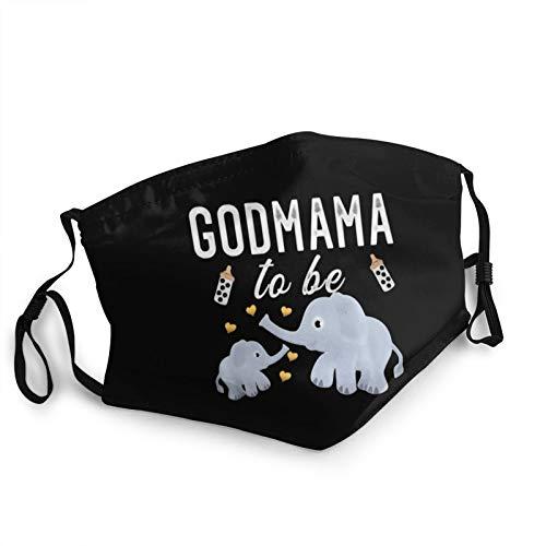 Adult Dust Mask Elephant Baby Shower Godmother Gift Face Masks Washable Balaclava