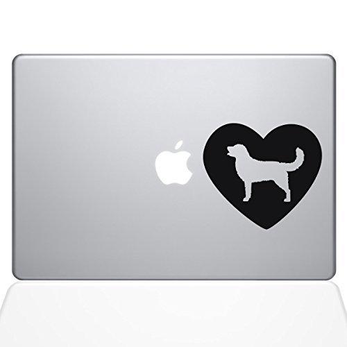 The Decal Guru Heart Golden Retriever Decal Macbook B0788DX1Z2 Decal Macbook Vinyl Sticker - 15 Macbook Pro (2016 & newer) - Black (1328-MAC-15X-BLA) [並行輸入品] B0788DX1Z2, 古着、USED専門百貨店BIG2nd:e65d8bb7 --- gallery-rugdoll.com