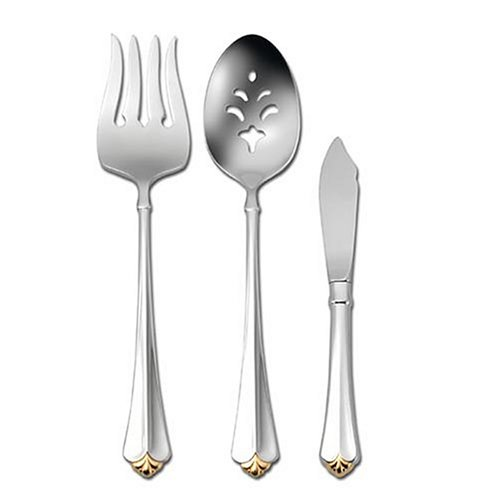 Oneida Golden Juilliard 3-Piece Serving Set