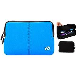 Apple iPad Air( Model A1474) 16 GB, 32 GB, 64 GB, 128 GB , Apple iPad Air 2 Premium Neoprene sleeve tablet cover with pocket- Tropic Blue
