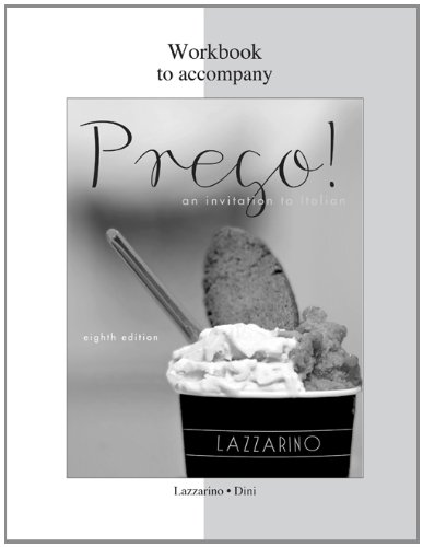 Workbook for Prego