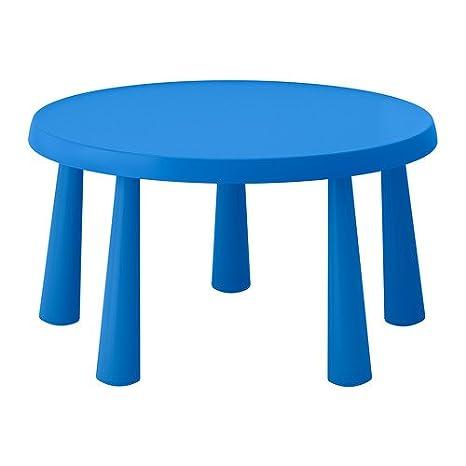 Tavolino Mammut Ikea.Amazon Com Ikea Mammut Children S Table Indoor Outdoor Blue