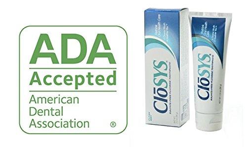 Closys Fluoride Toothpaste, 3.4 Ounce