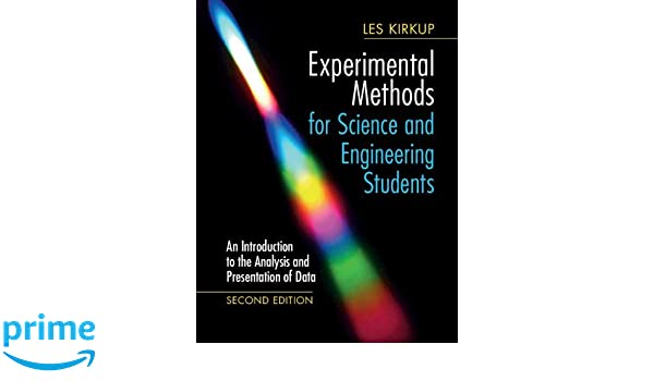 Amazon com: Experimental Methods for Science and Engineering