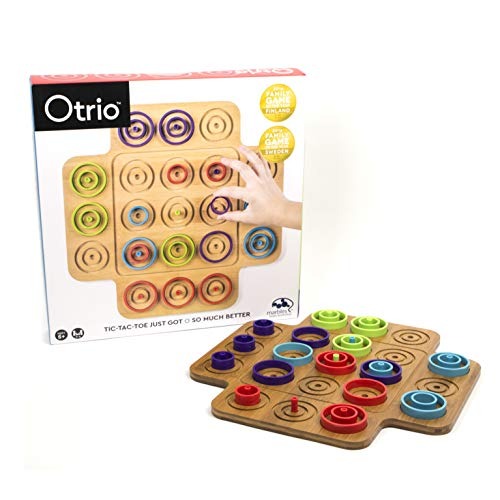 Spin Master Marbles Otrio 2.0 Wood Board Game (Ascending And Descending Order For Grade 1)