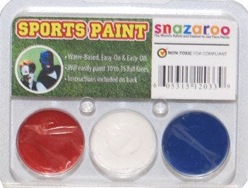 Patriots, Bills, Giants, Texans Snazaroo Face Paint Kit