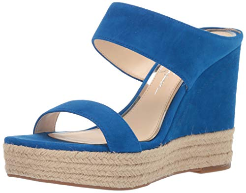 (Jessica Simpson Women's Siera Sandal, Blue NILE, 8 M US)