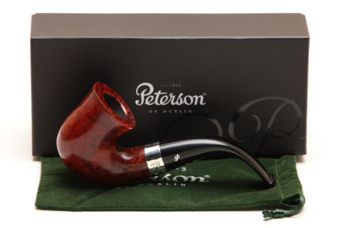 Peterson Sherlock Holmes Original Smooth Tobacco Pipe Fishtail by Peterson