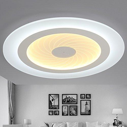 BLYC- Einfache Acryl LED-Deckenleuchte Runde im Wohnzimmer Lichter schöpferischen Persönlichkeit Studie Schlafzimmer Lampe Leuchte Lampe Durchmesser Restaurant 200/430/530/630 mm , diameter 53cm