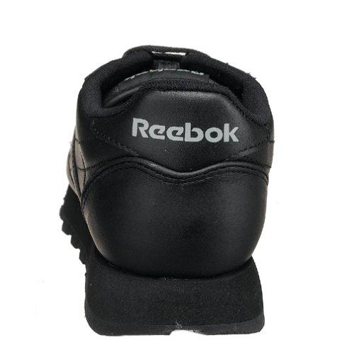 Reebok Womens Classic Sneaker In Pelle Nera