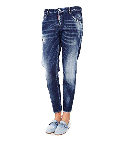 DSQUARED2 Women's S75lb0119s30342470 Blue Cotton Jeans