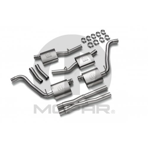 Dodge Challenger Mopar Performance Cat Back Exhaust 5.7L Engine