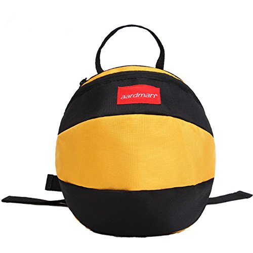 Hi 9 Shop Cute Cartoon Unisex Baby 1~3 Years Backpack Shoulder Bag Anti-lost Baby (Yellow)