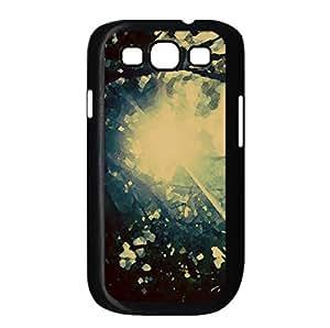 Bush Watercolor style Cover Samsung Galaxy S3 I9300 Case (Sun & Sky Watercolor style Cover Samsung Galaxy S3 I9300 Case)