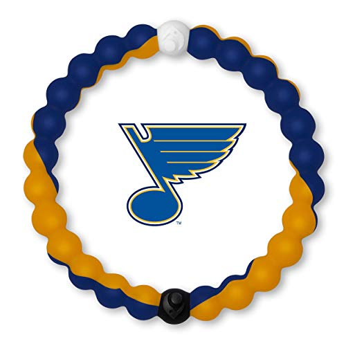 Lokai NHL Collection Bracelet, St. Louis Blues, Size Medium (6.5