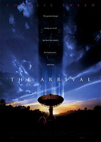 The Arrival Movie Poster (11 x 17 Inches - 28cm x 44cm) (1996) Style A -(Charlie Sheen)(Ron Silver)(Lindsay Crouse)(Teri Polo)