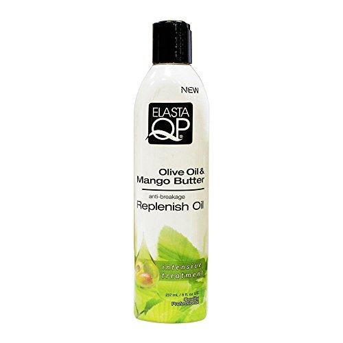 Elasta QP Olive Oil & Mango Butter Anti Breakage Growth Oil 237ml by ElastaQP