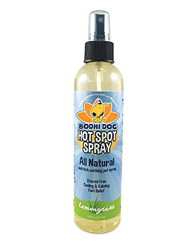 New Bitter Lemon Spray | Stop Biting and Chewing for Puppies Older Dogs and Cats | Anti Chew Spray Puppy Kitten Training Treatment | 100% Non Toxic | Made in USA (Hot Spot Spray)