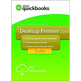 QuickBooks Desktop Premier 2018 3-User
