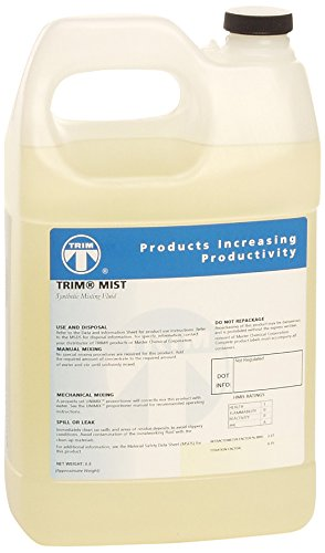 TRIM Cutting & Grinding Fluids MIST/1G Synthetic Misting Fluid, 1 gal Jug
