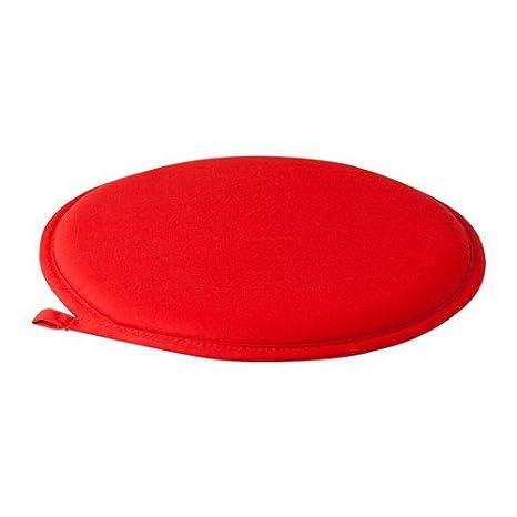 Ikea Cilla - Cojín para Silla (34 cm), Color Rojo: Amazon.es ...