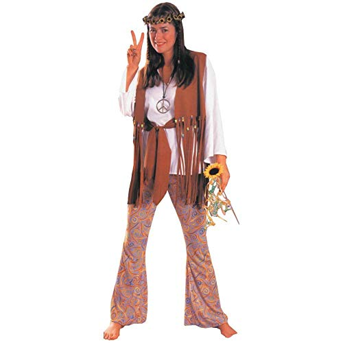Rubie's Women's Hippie Love Child Costume, Multicolor, One Size