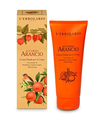 - Accordo Arancio Fluid Body Cream 200 ML / 6.76 Fl. Oz. by L'Erbolario Lodi