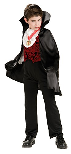 Transylvanian Vampire Costume With Short Cape Costume -