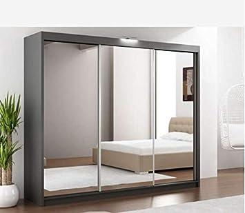 Puerta corredera para armario de 90 cm, color blanco: Amazon.es: Hogar