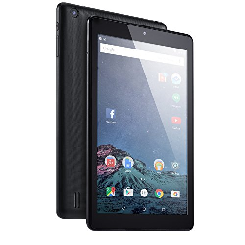 "NeuTab S8 8"" Tablet 64 bit Quad Core,16GB bulit-in Storage, 1280×800 HD IPS Display, Bluetooth 4.0, Dual Camera, HDMI, FCC Certified Black"