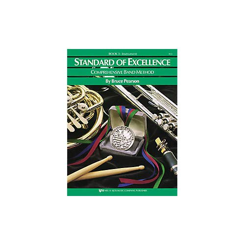 Standard Of Excellence Book 3 Drums/Mallet Percussion Pack of 3