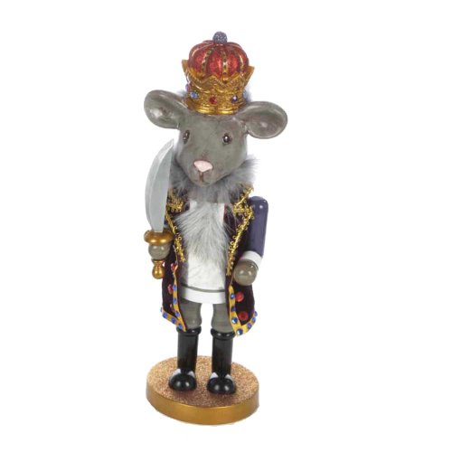 Hollywood Nutcrackers Kurt Adler Hollywood Mouse King Nutcracker, 12-Inch (12 Nutcracker)