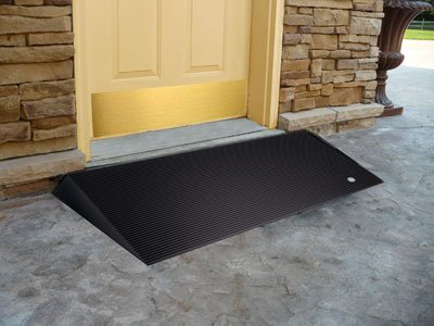 EZ - Access 2.5 inch Beveled Rubber Threshold Ramp(Size=2.5 inch)