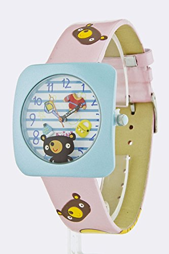 Jew Bear Costume (TRENDY FASHION JEWELRY ANIME BEAR WATCH BY FASHION DESTINATION)