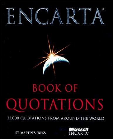 Encarta Book of Quotations