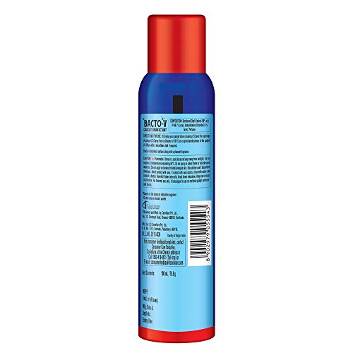 Bacto-V Gadget Disinfectant Spray with 99.7% Alcohol, No Water