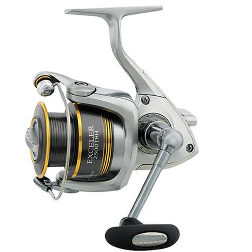 Daiwa Exceler 3+1 Ball Bearing, 5.3:1, 8 Pound/110 Yards Spin Reel