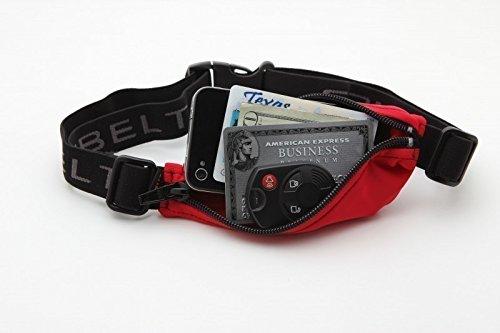 S/ SPIbelt Unisex Genuine L Pocket Bag Polka Dots /XL