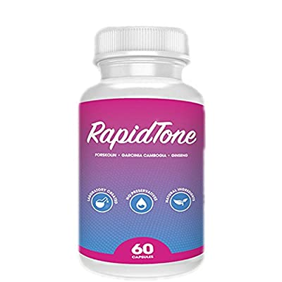 Rapid Tone Weight Loss Pills - Burn Fat Quicker, Appetite Suppressant - Shark Tank Product