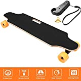 Miageek Electric Skateboard Penny Board with Remote Controller (Style 2 : Orange)