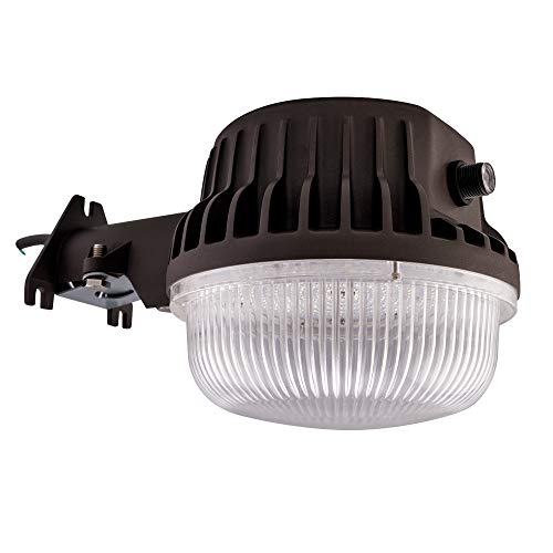 Bobcat LED Area Light 80 Watts Dusk to Dawn Photocell Included, Perfect Yard Light or Barn Light, 9500 Lumens, 5000K, UL Listed,DLC, 700W Incandescent or 200W HID Light Equivalent, 5-Year Warranty
