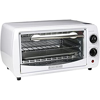 white toaster oven black decker 4 slice toaster oven white 10062