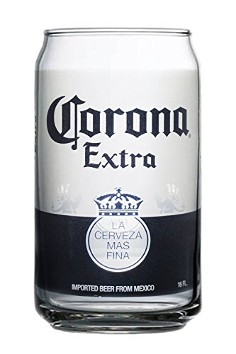 - Corona Extra Can Glasses (Set of 4)