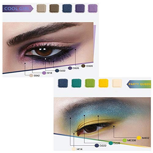 59f6a785e5b3 Famous Eyeshadow Palette re-sale Color Studio Eye shadow Palette 35 Colors  Powder Makeup Waterproof Unleash Your Inner Artist Beauty Glazed
