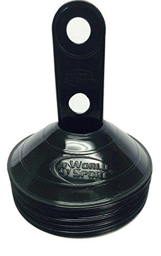 World Sport Disc Cones Black (Black Training Cones compare prices)
