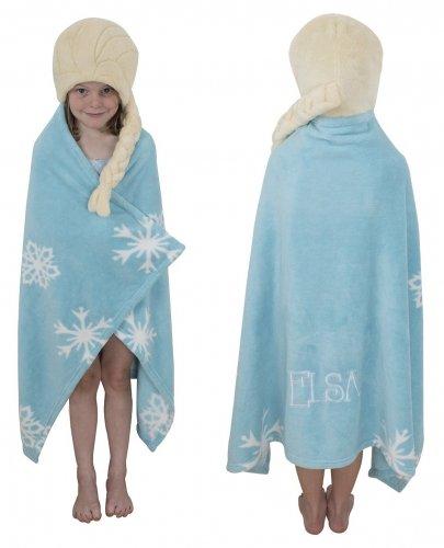 Disney Frozen 'Elsa' 100% Polyester One Size Cuddle ()