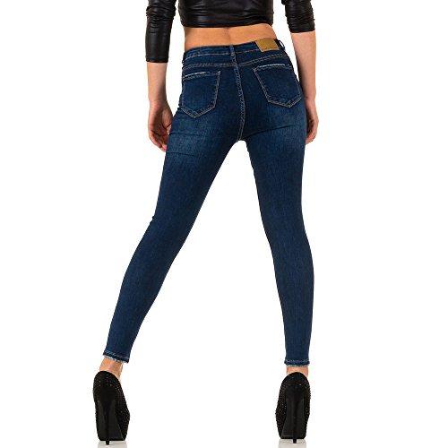 Used High Waist Skinny Jeans Für Damen , Dunkelblau In Gr. Xs/34 bei Ital-Design